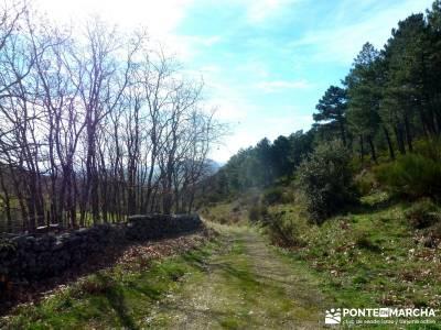 Las Machotas - Senderismo entresemana - Pico de El Fraile y los Tres Ermitaños; rutas por la sierra